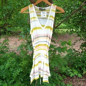 Charlotte Tarantola Summer light strip shirt